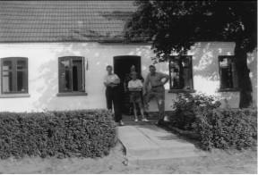 Wester Hassing 1942 Far, mor Hartvig og Børge Leth