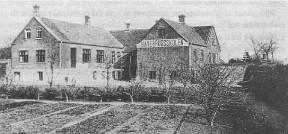 Beder Havebrugsskole - nu Gartnerskole - ca. 1910