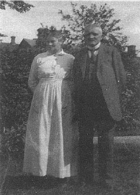 Dorthea og Bertel Jegsen i Krohaven i Malling