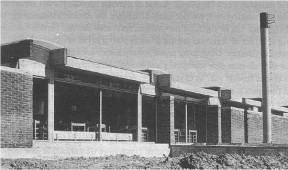 Klubhuset i Egelund 18-4-1971