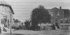 Malling Gæstgivergaard ca. 1900