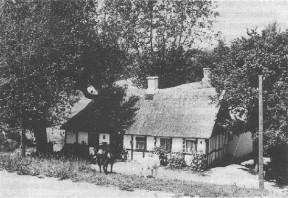 """Posthuset"" i Fulden ca. 1960"