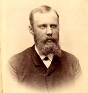 Portræt af Gotfred Jensen i 1880erne