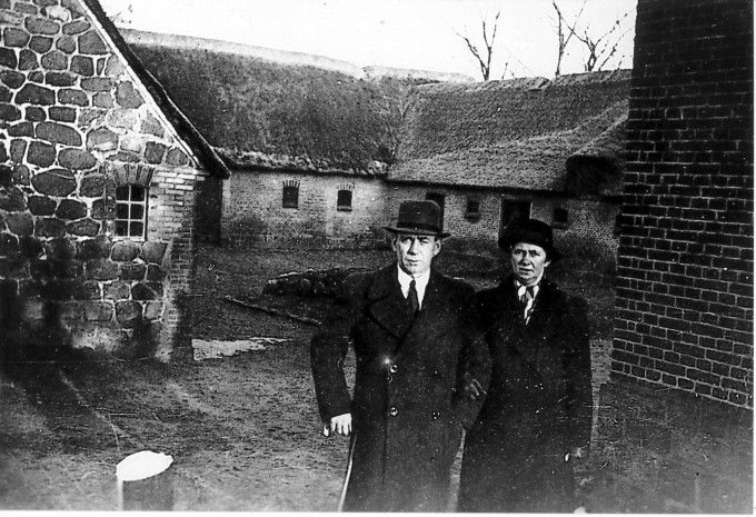 Aage og Maren Nielsen ca. 1933