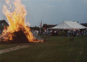 Skt. Hans bål 1983