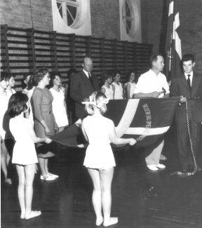 Beder og omegns Ungdomskreds faneindvielse 1961