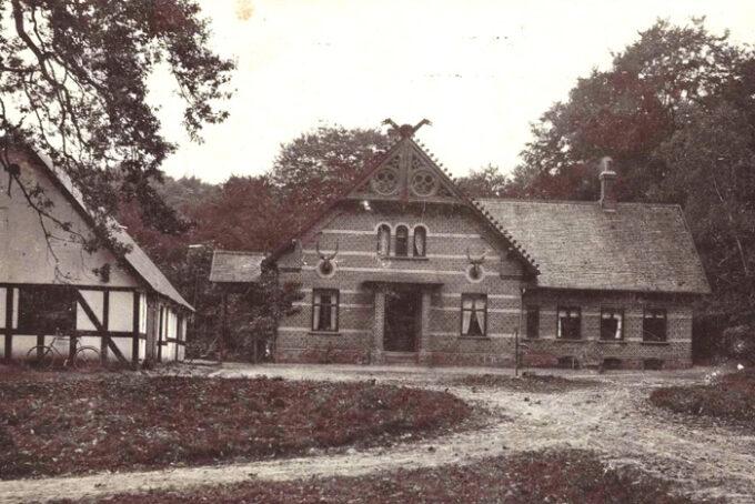 Frederiksdal cirka 1915. Postkort