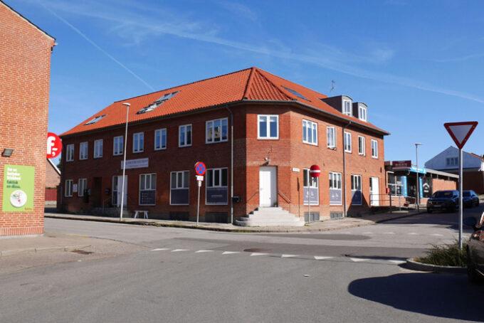 Stationspladsen august 2019. Fotogra L Frandsen