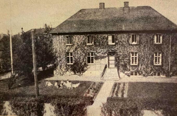 Husholdningsskolen som den så ud i 1950