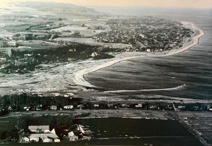 Luftfoto 1973. Fotograf Poul Pedersen